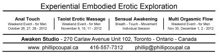 Experiential Embodied Erotic Exploration - Anal Touch for Men