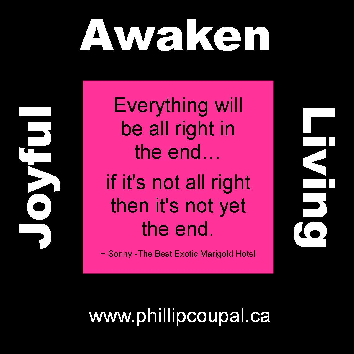 Awaken Joyful Living www.phillipcoupal.ca
