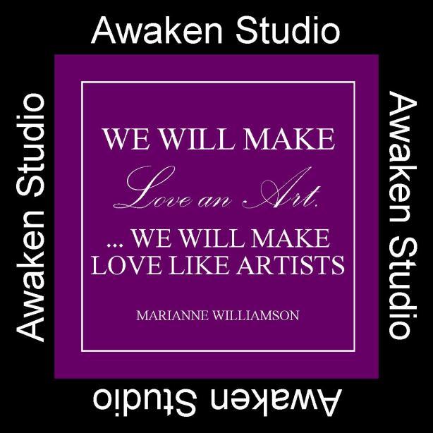 LOVE as ART The Awaken Studio www.phillipcoupal.ca