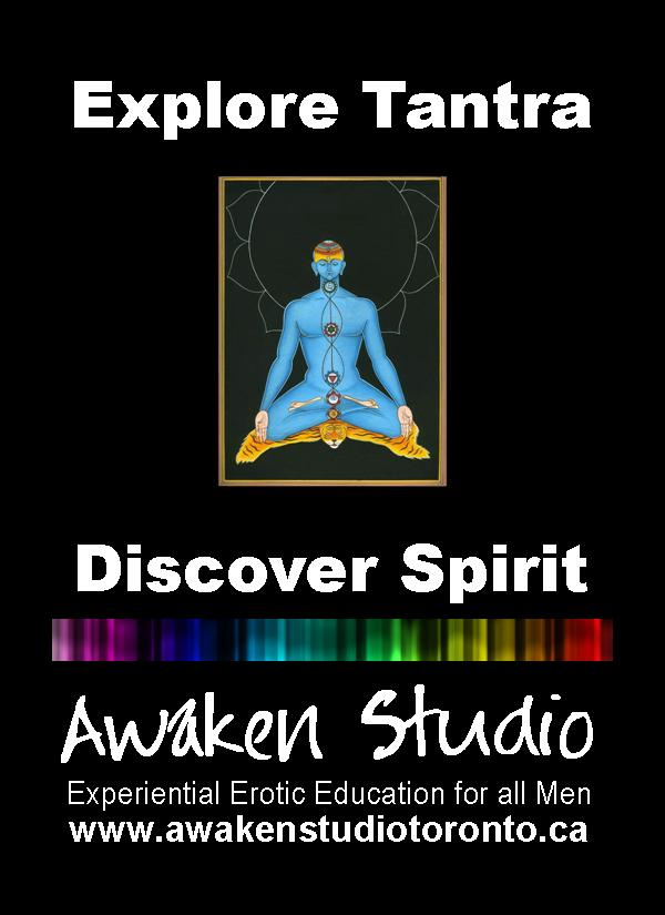 Awaken Studio Toronto Tantra Explorers for Men Wednesday 7:00 pm www.phillipcoupal.ca