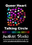 Awaken Studio Toronto Queer Heart Talking Circle Sunday 1:00 pm www.phillipcoupal.ca