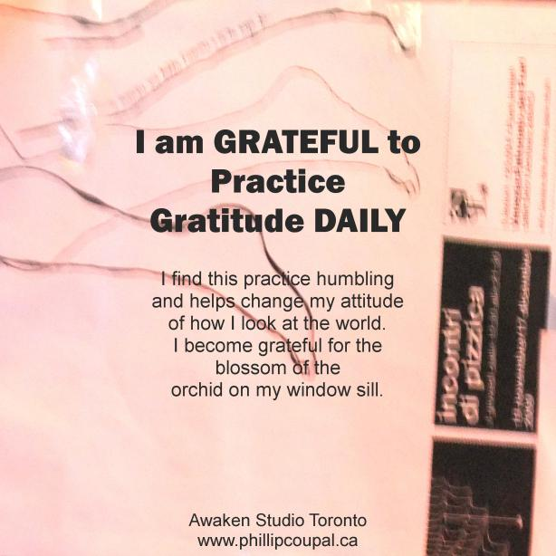 Gratitude Day 41 at the Awaken Studio Toronto http://www.awakenstudiotoronto.com