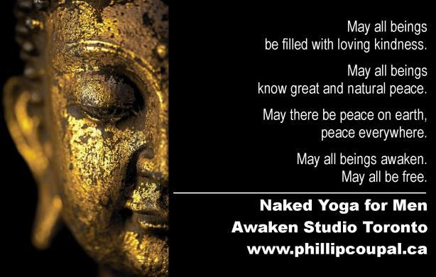 Naked Yoga for Men at the Awaken Studio Toronto www.phillipcoupal.ca