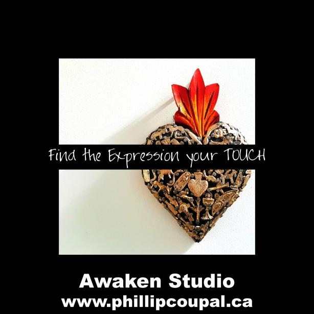 Find the expression of your touch Awaken Studio Toronto www.phillipcoupal.ca